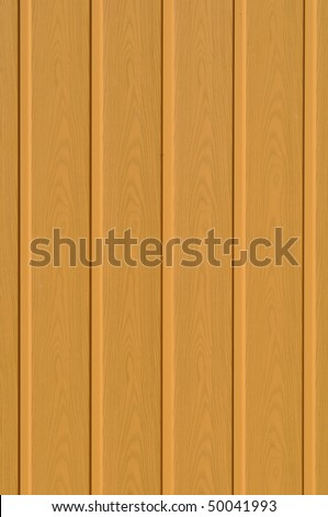 Plastic siding panel in beige color which can be used as background - stock photo