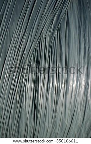 plastic surface - stock photo
