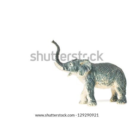 Plastic Toy Animal Elephant