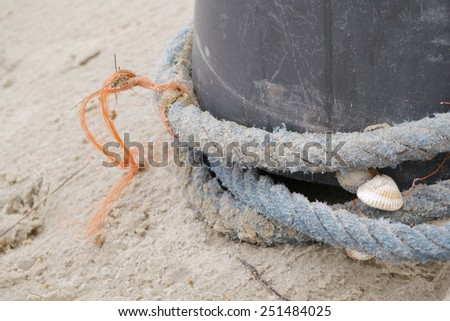 plastic waste - stock photo
