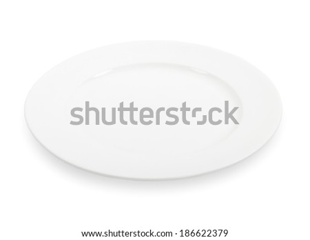 Plate isolated
