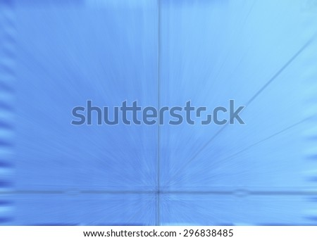 Plate with clear blue texture - metal â?? Abstract