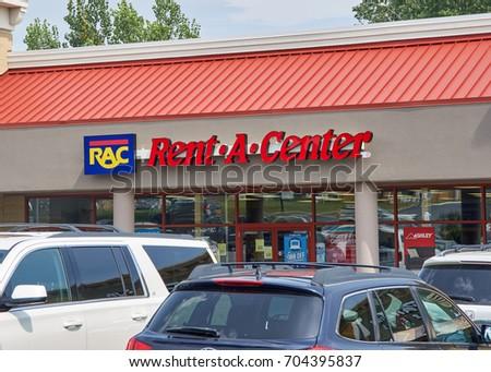 Plattsburgh Usa August 23 2017 Rentacenter Stock Photo 704395837 Shutterstock