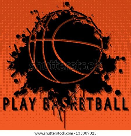 Play basketball - stock photo