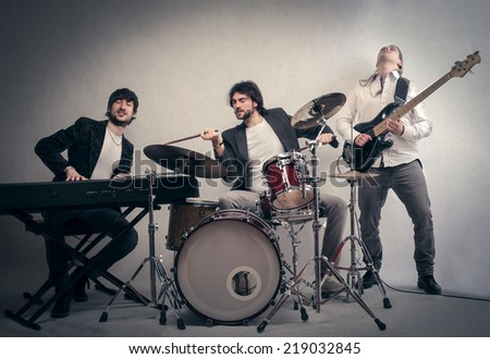 Play in a band - stock photo