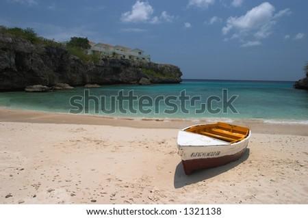 Playa Lagun, Curacao - stock photo