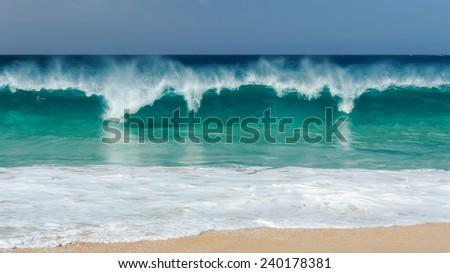 Playa Las Conchas, La Graciosa, Canary Islands, Spain. - stock photo