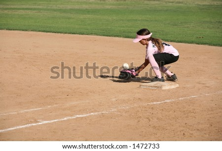 Player bobbling the ball - stock photo