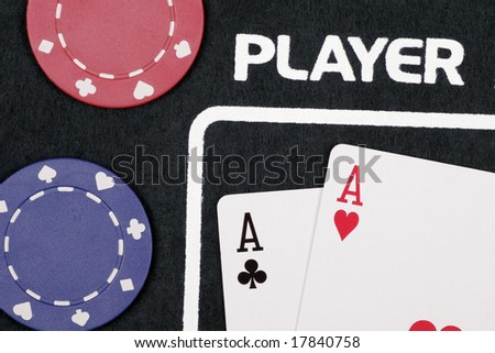 Player - Casino Cards And Chips On Table
