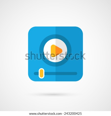 Player for web, - stock photo