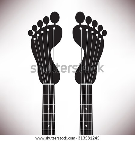 Playful and fun music background ideal for posters, brochures and flyers, as well as web use - stock photo