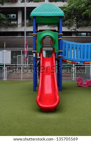Playground and wassailed - stock photo