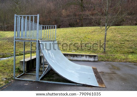 Playground for skaters