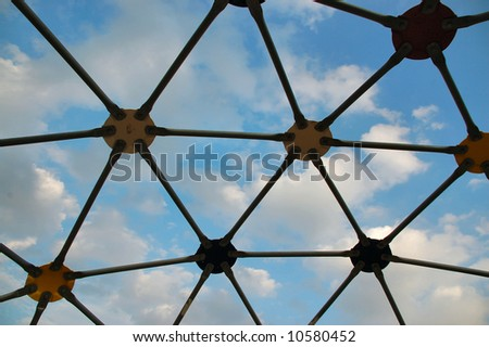 Playground Geodesic Dome Sky Stock Photo (Royalty Free) 10580452 ...