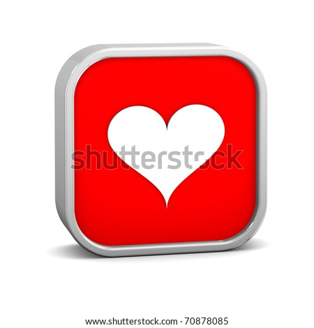 Playing cards hearts on a white background. Part of a series. - stock photo