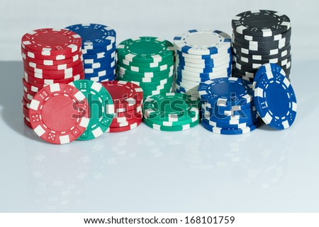 Playing Poker Chips