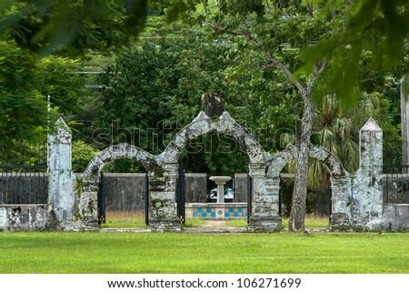 Plaza de Espana in Guam - stock photo
