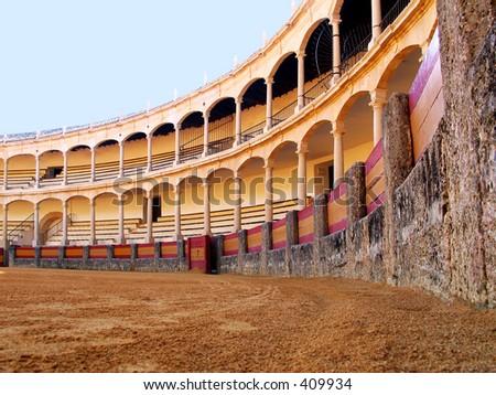 Plaza de toros,Ronda,Spain. - stock photo
