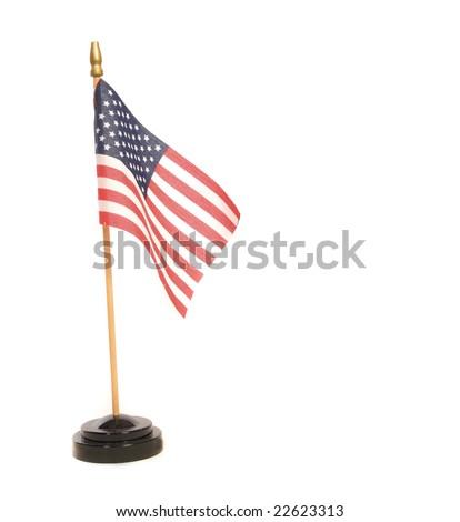 pledge of allegiance American Flag, for desktop - stock photo