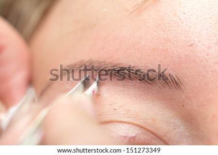how to stop pulling eyebrows