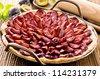 plum cake - stock photo