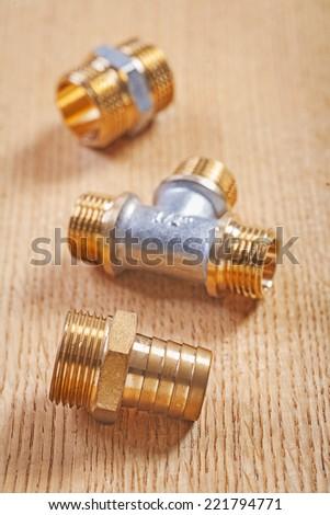 plumbing fixtures - stock photo