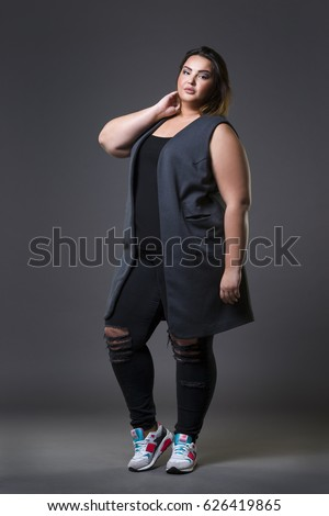full body naked obese women