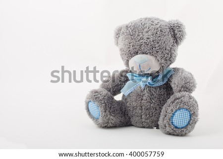 Plush toys, Teddy Bear - stock photo