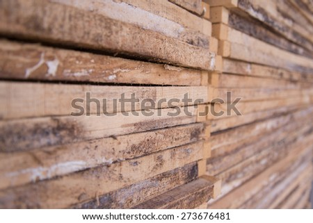 plywood - stock photo