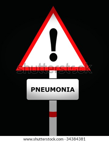 pneumonia - stock photo