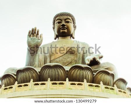 Po Lin monastery - stock photo