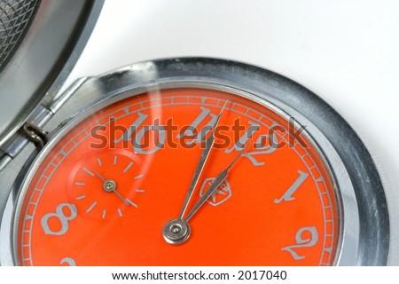 Pocket hours close-up - stock photo