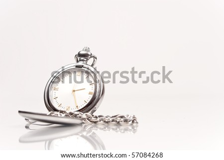Pocket Watch with Space for Text