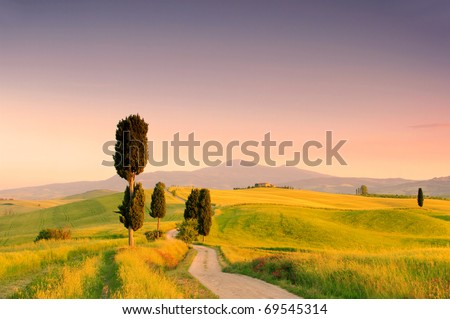 Podere Terrapille - stock photo