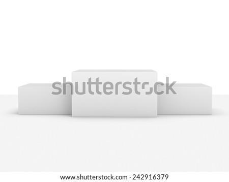 podium or display - stock photo