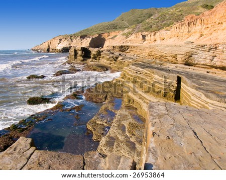 Stock images similar to id 67830568 lifeguard shack san for Tides for fishing san diego