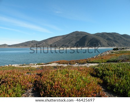 Point Mugu on the coast of California