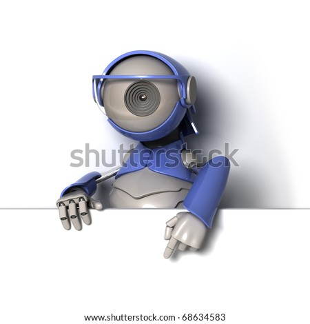 Point the finger at - stock photo