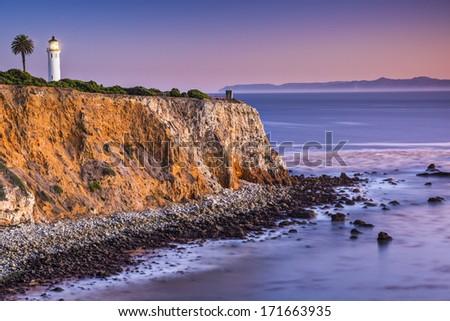 Point Vicente in Rancho Palos Verdes, Los Angeles, California. - stock photo
