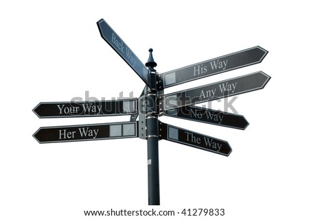 Pointer of your choice - stock photo
