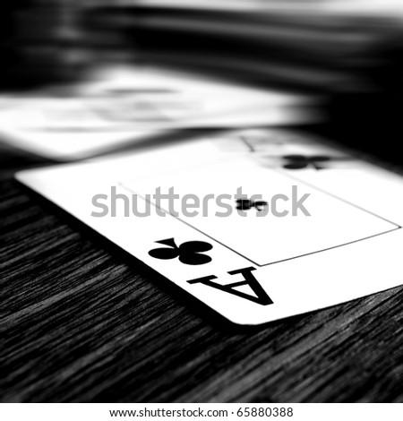 Poker - stock photo