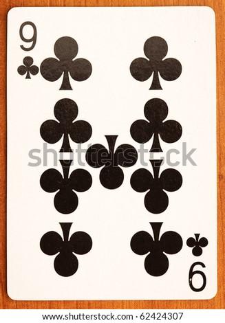 poker card - stock photo