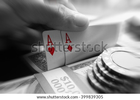 Poker Stock Photo High Quality - stock photo