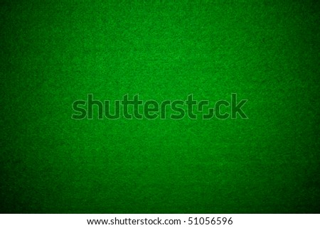 Poker table felt background in green color - stock photo