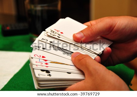 Poker time! - stock photo