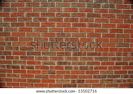 Polarized Brick - stock photo