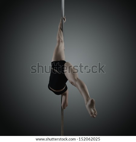 naked pole dancing video