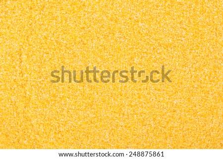 Polenta background - stock photo
