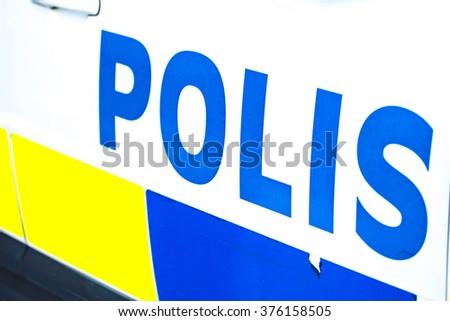 Police - stock photo