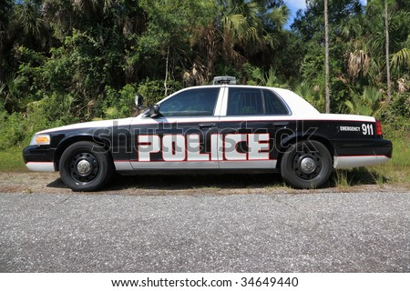Police Car - stock photo